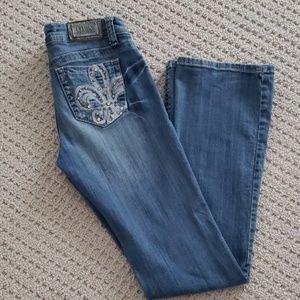 Grace in LA Women's boot cut Jeans